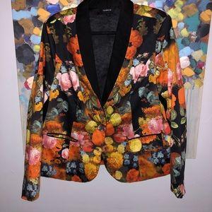 Torrid Bright Floral Blazer